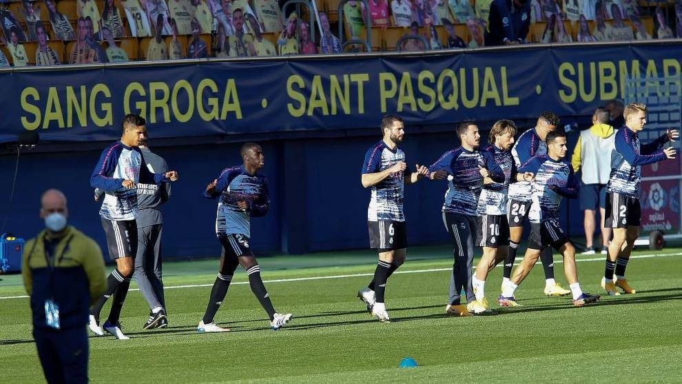 Real Madrid ratings vs Villarreal: Where is Hazard?