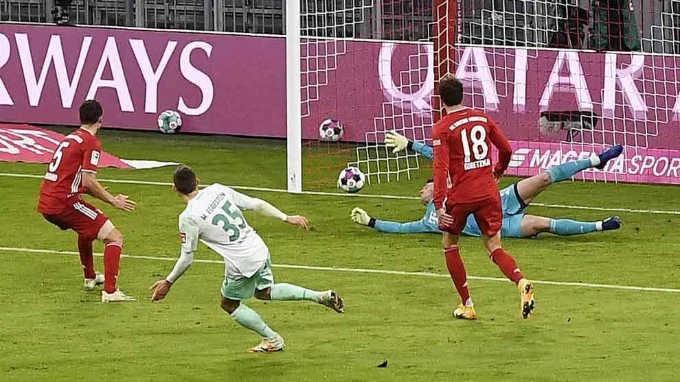 Bayern Munich empata con el Werder Bremen.