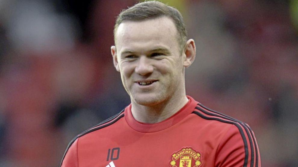 Wayne Rooney durante su etapa en el Manchester United