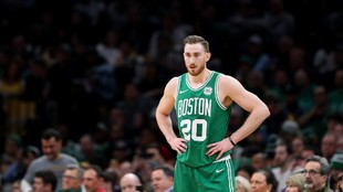 Gordon Hayward, en un partido con los Celtics.