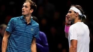 Rafael Nadal - Daniil Medvedev. En directo, las semifinales del...