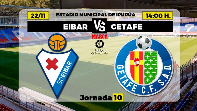 Eibar vs Getafe: Ipurua ya no mete miedo