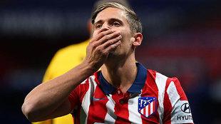 Carrasco, Llorente, Koke... este Atlético vuela