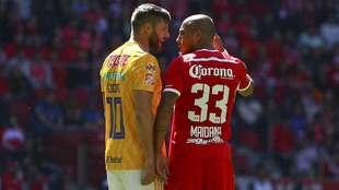 Maidana descarta rivalidad con Gignac para el Toluca vs Tigres.