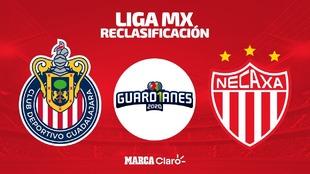 Chivas vs Necaxa: en vivo y online el partido de la repesca del...
