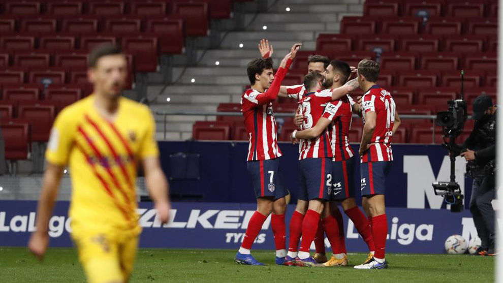 Atletico Madrid's title challenge is off to an emphatic start