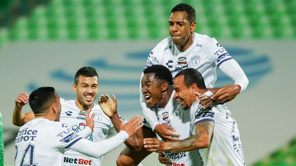 Pachua derrotó a Santos para llegar a la Liguilla del Apertura 2020....