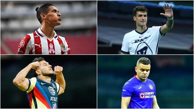 Los cuatro grandes del fútbol mexicano vuelven a coincidir en una Liguilla ¡nueve años después!