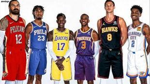 Mercado de fichajes de la NBA 2020: rumores, traspasos y agentes...