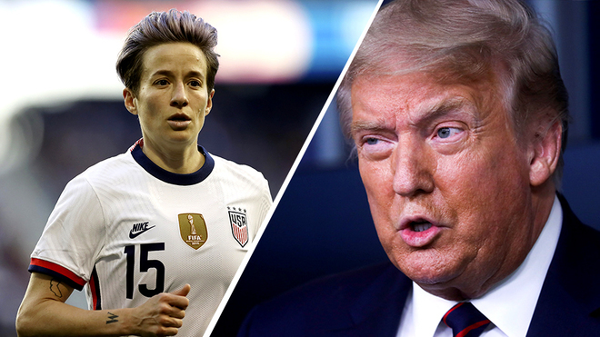 Megan Rapinoe mocks Trump after recount results come in