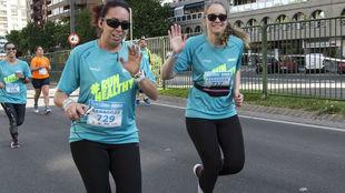Dos corredoras, en una edición anterior de las Sanitas MARCA Running...
