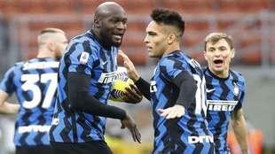 Inter de Milán vence al Torino con una gran remontada.