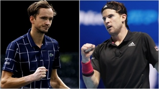 Medvedev - Thiem, la final ATP Finals Nitto 2020