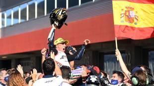 ¡Arenas, campeón del mundo!