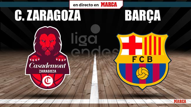 Zaragoza - Barcelona en directo