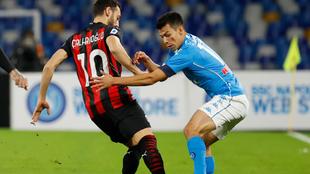 Napoli vs Milan, en vivo online minuto a minuto el partido de la Serie...