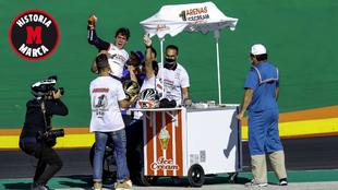 Los helados no podían faltar en la fiesta de Arenas.