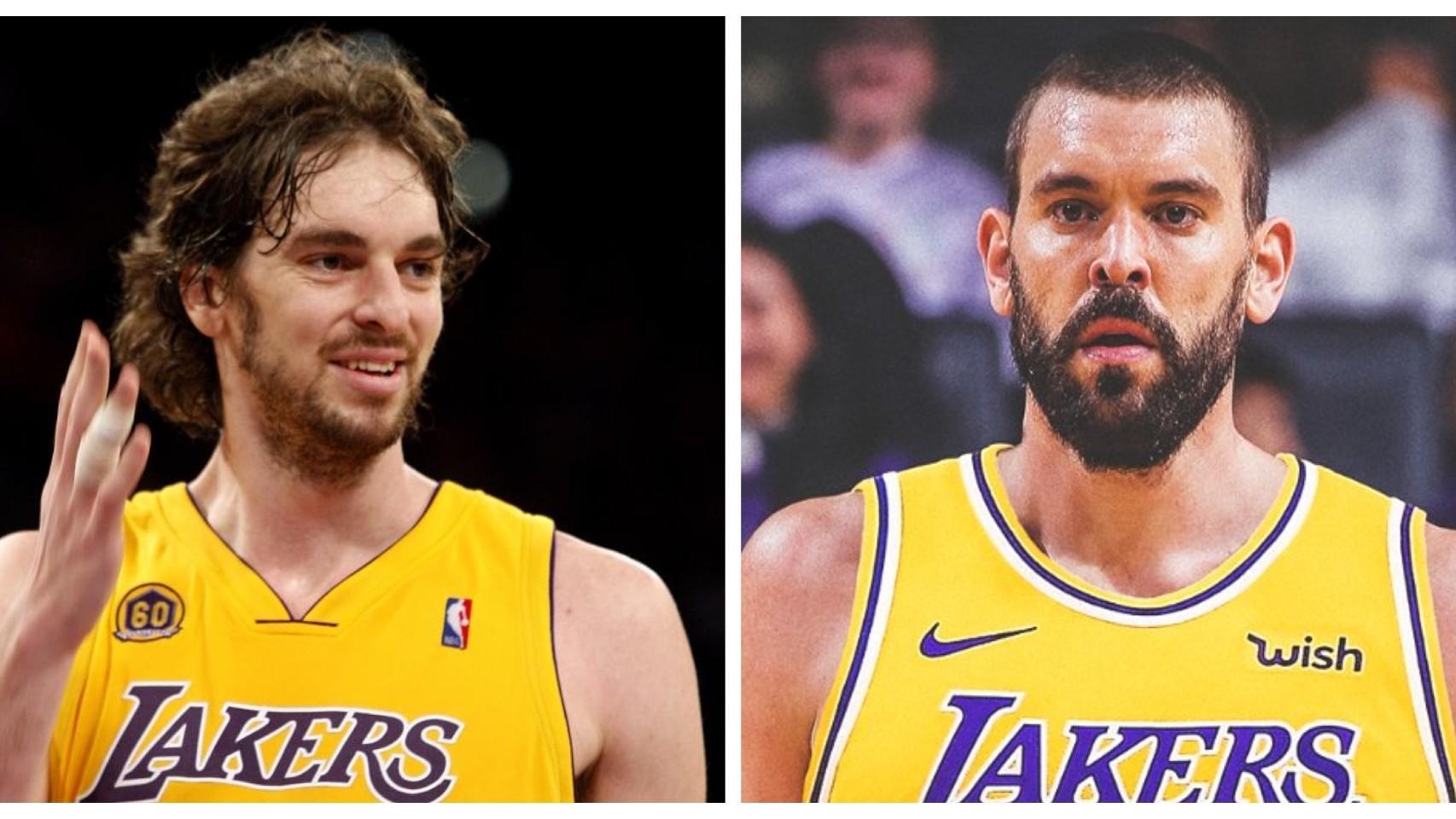 Gasol y Lakers