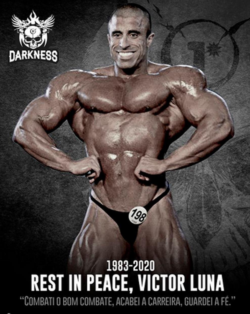 El fisioculturista Víctor 'Big Boy' Luna murió a los 37 años por un...