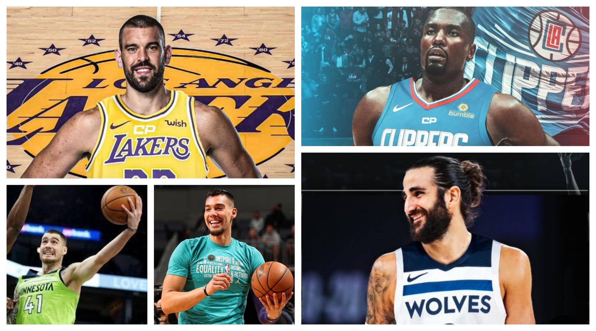 Los españoles de la NBA encuentran su hueco: ya sólo falta Pau Gasol