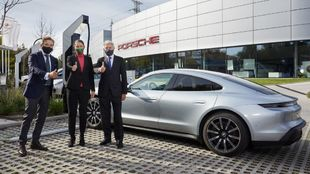 Porsche Iberdrola High Power Charging Network