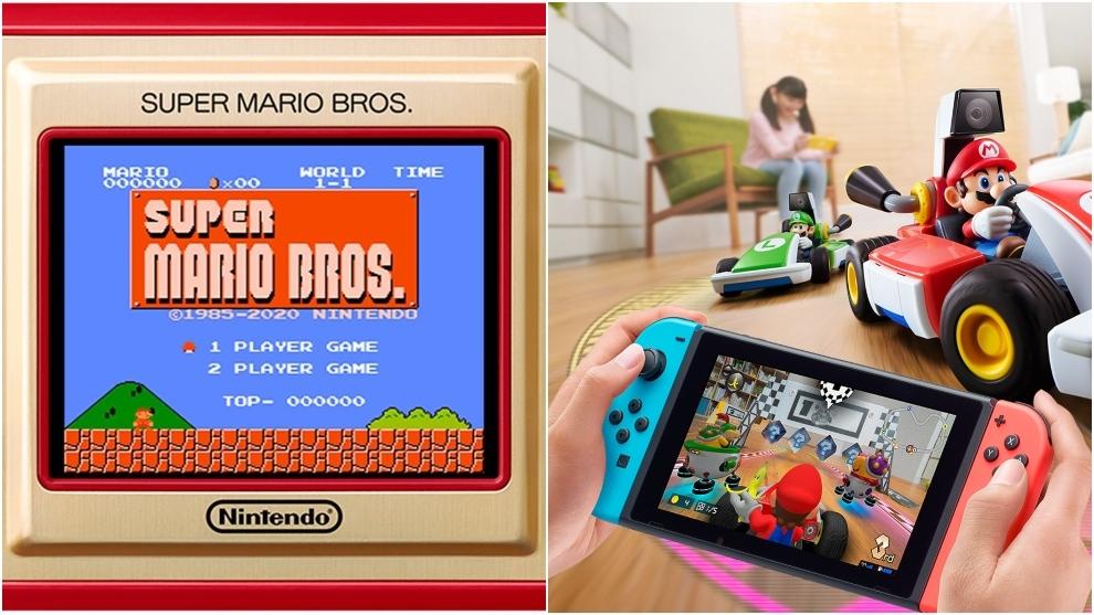 Nintendo Switch celebra el 35 aniversario de Super Mario Bros