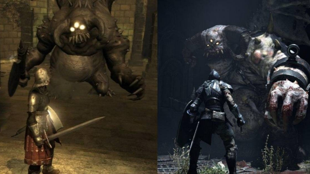 Demon's Souls PS3 vs Demon's Souls PS5