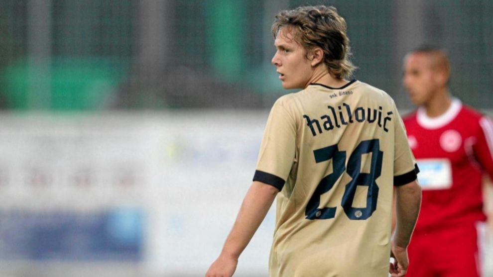Halilovic, durante sus inicios en el Dinamo de Zagreb