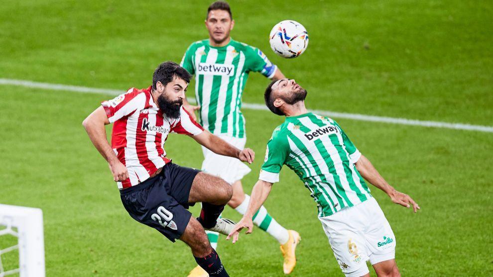 Villalibre fue el delantero más incisivo del Athletic