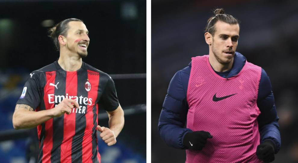 Ibrahimovic and Bale.