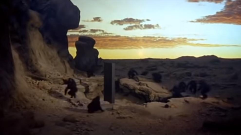Una escena de la película 2001 Odisea en el espacio