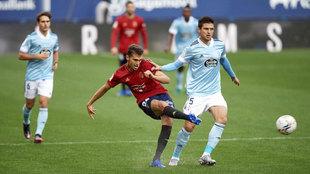 Lucas Torró con Osasuna