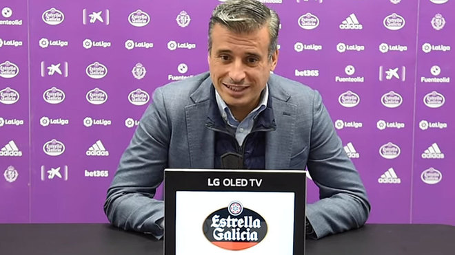 Miguel Ángel Gómez, en una comparecencia.