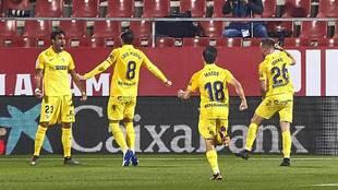 Escassi celebra con rabia el gol que decidió el choque