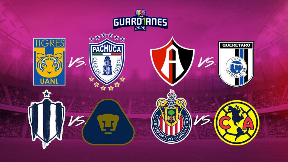 Listos los horarios de la Liguilla de la Liga MX Femenil.