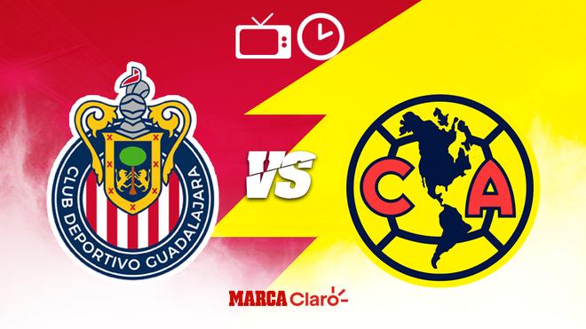 Chivas vs América: Hora, día y canales de TV para ver en vivo la...