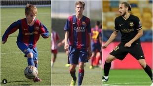Oscar Mingueza Barcelona Champions