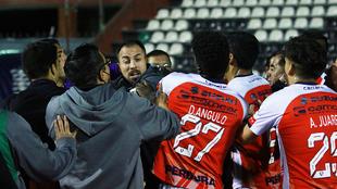 Vergonzosa pelea en el Mineros vs Tepatitlán FC