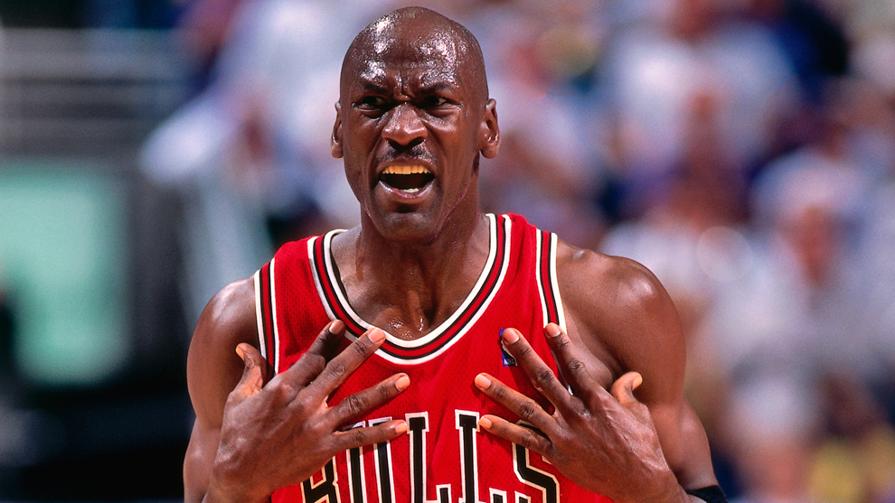 Michael Jordan en su etapa con los Bulls
