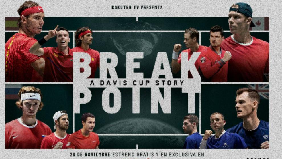 \'Break Point: a Davis Cup Story\' se estrena mañana de forma gratuita en...