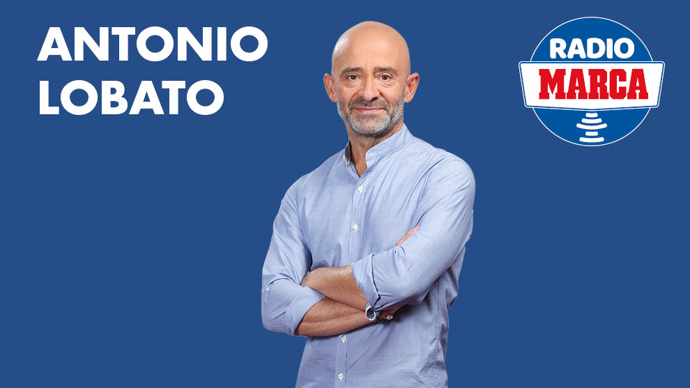 Antonio Lobato, en Radio MARCA.