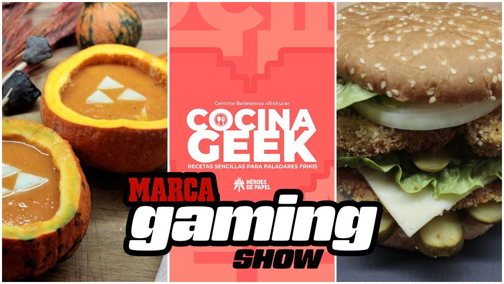 """Las recetas de cocina gamers con """"Cocina Geek"""""""