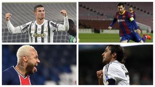¿Eres capaz de nombrar los 50 máximos goleadores de la historia de la Champions?