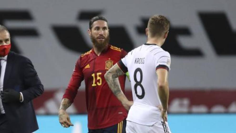 Sergio Ramos and Toni Kroos.