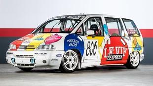 El 806 sólo participó en una carrera, pero sus tiempos no fueron...