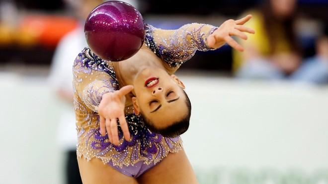 La israelí Linoy Ashram, una de las favoritas al título individual.