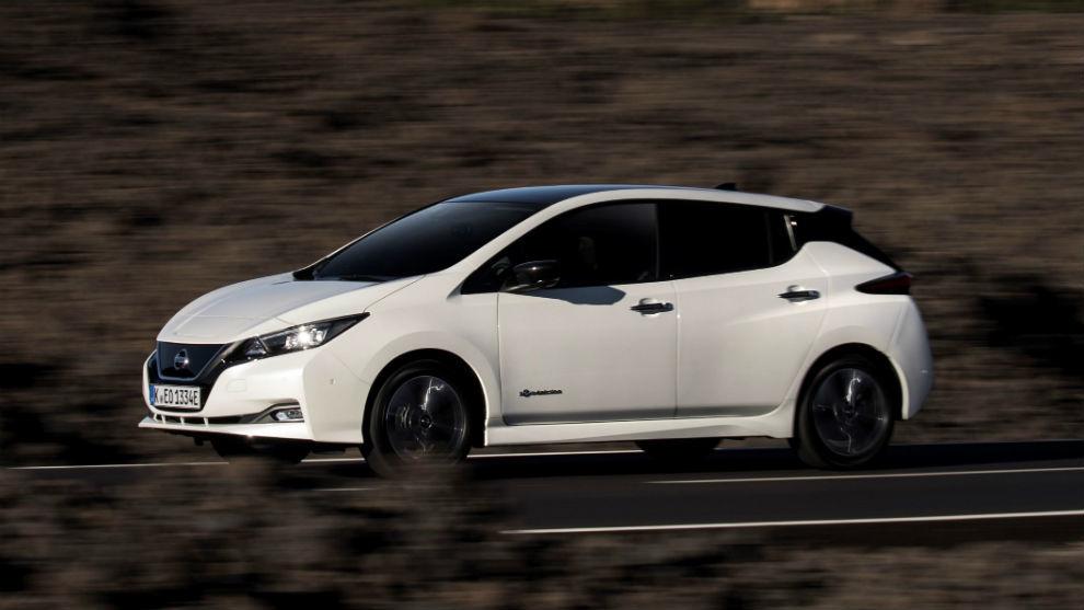 El Nissan Leaf está disponible con batería de 40 kWh o de 62 kWh.
