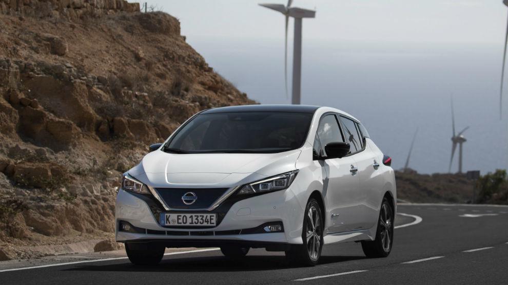 Los Nissan Leaf de la Guardia Civil tienen 150 CV y 270 km de autonomía.