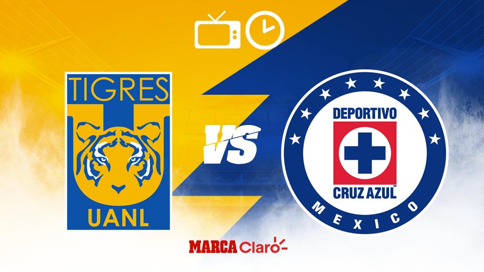 Cruz Azul vs Tigres, en donde ver el partido de Liguilla