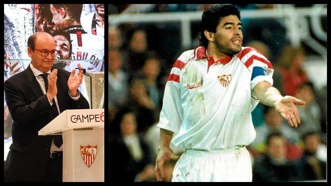 """Pepe Castro: """"Maradona fue un futbolista extraordinario, un ídolo"""""""